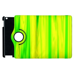 Shading Pattern Symphony Apple iPad 3/4 Flip 360 Case