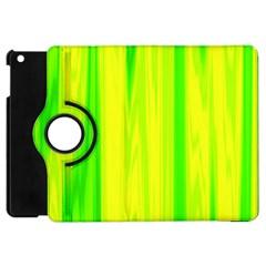 Shading Pattern Symphony Apple iPad Mini Flip 360 Case