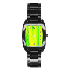 Shading Pattern Symphony Stainless Steel Barrel Watch