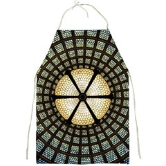 Stained Glass Colorful Glass Full Print Aprons