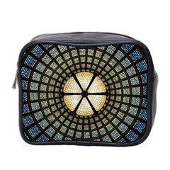 Stained Glass Colorful Glass Mini Toiletries Bag 2-Side