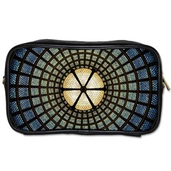 Stained Glass Colorful Glass Toiletries Bags