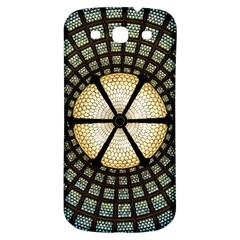 Stained Glass Colorful Glass Samsung Galaxy S3 S III Classic Hardshell Back Case