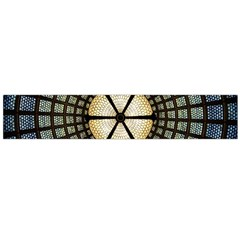 Stained Glass Colorful Glass Flano Scarf (Large)