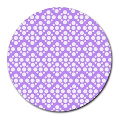 The Background Background Design Round Mousepads