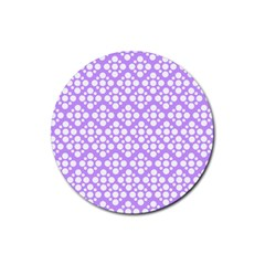 The Background Background Design Rubber Coaster (Round)
