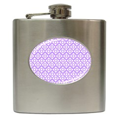 The Background Background Design Hip Flask (6 oz)