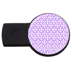 The Background Background Design USB Flash Drive Round (1 GB)