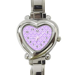 The Background Background Design Heart Italian Charm Watch