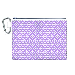 The Background Background Design Canvas Cosmetic Bag (L)