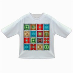 Tiles Pattern Background Colorful Infant/Toddler T-Shirts