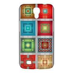 Tiles Pattern Background Colorful Samsung Galaxy Mega 6.3  I9200 Hardshell Case