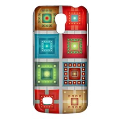 Tiles Pattern Background Colorful Galaxy S4 Mini