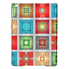 Tiles Pattern Background Colorful iPad Air Hardshell Cases
