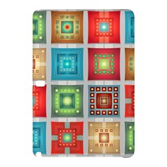 Tiles Pattern Background Colorful Samsung Galaxy Tab Pro 10 1 Hardshell Case
