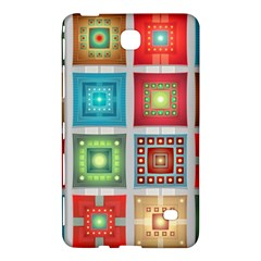 Tiles Pattern Background Colorful Samsung Galaxy Tab 4 (7 ) Hardshell Case