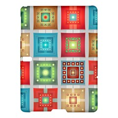 Tiles Pattern Background Colorful Samsung Galaxy Tab S (10.5 ) Hardshell Case