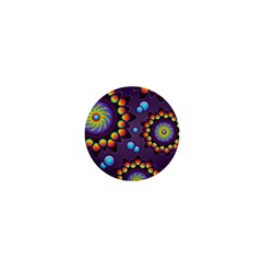 Texture Background Flower Pattern 1  Mini Magnets