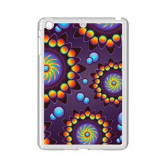 Texture Background Flower Pattern iPad Mini 2 Enamel Coated Cases