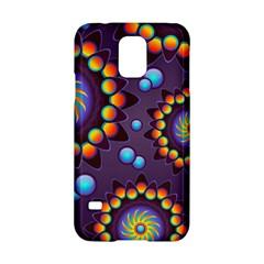 Texture Background Flower Pattern Samsung Galaxy S5 Hardshell Case