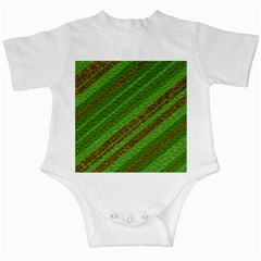 Stripes Course Texture Background Infant Creepers