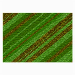 Stripes Course Texture Background Large Glasses Cloth (2 Side)