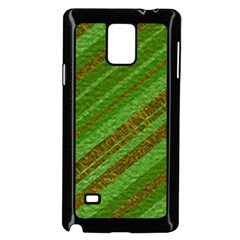 Stripes Course Texture Background Samsung Galaxy Note 4 Case (Black)