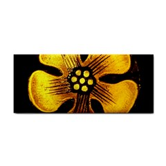 Yellow Flower Stained Glass Colorful Glass Cosmetic Storage Cases