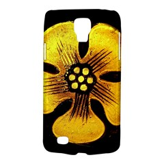 Yellow Flower Stained Glass Colorful Glass Galaxy S4 Active