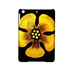 Yellow Flower Stained Glass Colorful Glass iPad Mini 2 Hardshell Cases