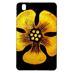 Yellow Flower Stained Glass Colorful Glass Samsung Galaxy Tab Pro 8.4 Hardshell Case