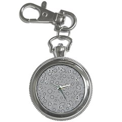 Water Glass Pattern Drops Wet Key Chain Watches