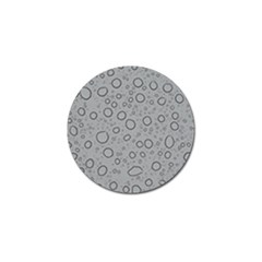 Water Glass Pattern Drops Wet Golf Ball Marker (10 pack)