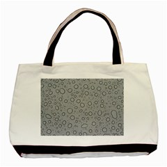 Water Glass Pattern Drops Wet Basic Tote Bag (two Sides)