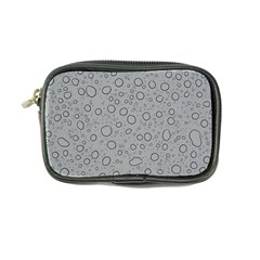 Water Glass Pattern Drops Wet Coin Purse