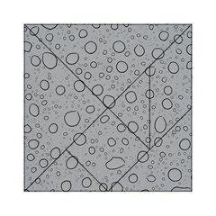 Water Glass Pattern Drops Wet Acrylic Tangram Puzzle (6  x 6 )