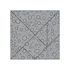 Water Glass Pattern Drops Wet Acrylic Tangram Puzzle (4  x 4 )