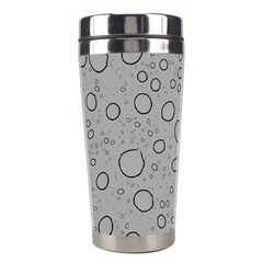 Water Glass Pattern Drops Wet Stainless Steel Travel Tumblers