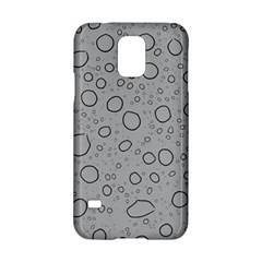 Water Glass Pattern Drops Wet Samsung Galaxy S5 Hardshell Case