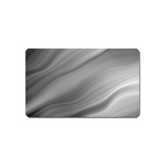 Wave Form Texture Background Magnet (Name Card)