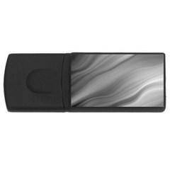 Wave Form Texture Background USB Flash Drive Rectangular (1 GB)