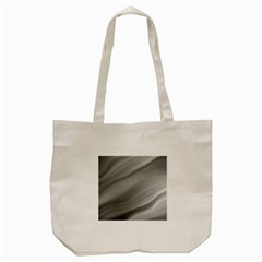 Wave Form Texture Background Tote Bag (cream)