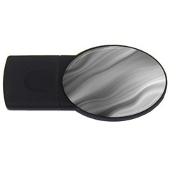 Wave Form Texture Background USB Flash Drive Oval (4 GB)