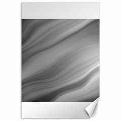 Wave Form Texture Background Canvas 24  x 36