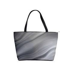 Wave Form Texture Background Shoulder Handbags