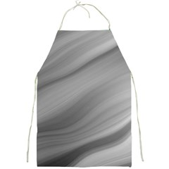 Wave Form Texture Background Full Print Aprons