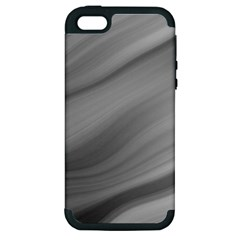 Wave Form Texture Background Apple iPhone 5 Hardshell Case (PC+Silicone)