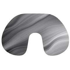 Wave Form Texture Background Travel Neck Pillows