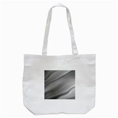 Wave Form Texture Background Tote Bag (white)