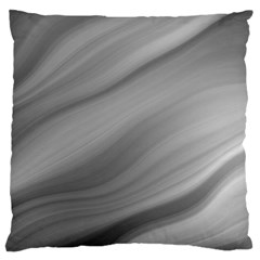 Wave Form Texture Background Standard Flano Cushion Case (two Sides)